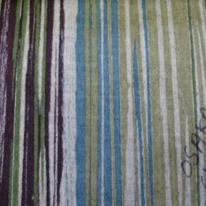 Toile Polyester - Osaka Stripé